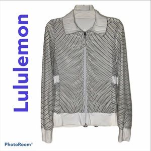 Lululemon Reversible RAJA Polka Dot Jacket Small